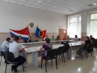 фото                  Заседание Координационного штаба по контролю реализации проектов и мероприятий в рамках национальных и региональных проектов в Пожарском муниципальном районе 26 августа 2021 года