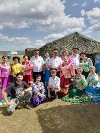 фото                  28 августа работники и участники художественной самодеятельности Дворца культуры приняли участие в культурной программе военно-технического форума «Армия-2021»